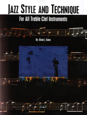 Book cover of Jazz Style and Technique for Treble Clef