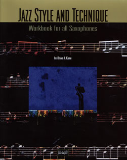 Book cover of Jazz Style and Technique for Sax